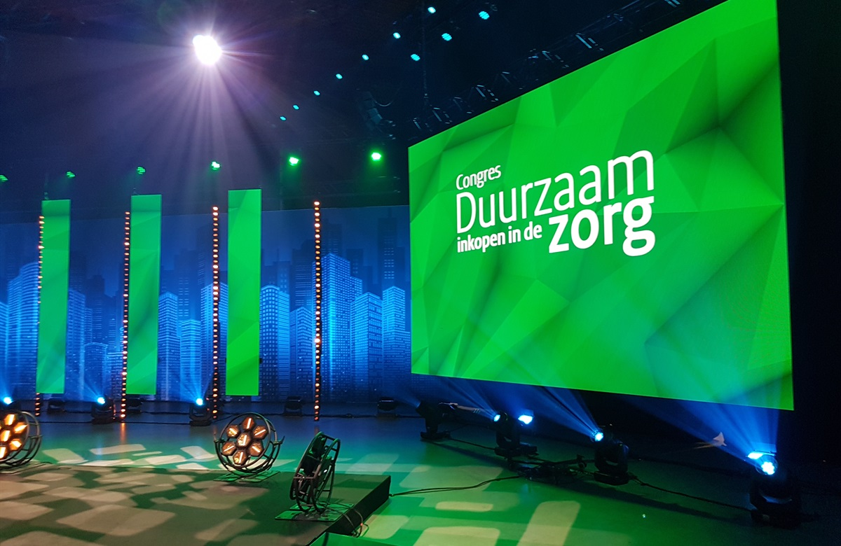 Congres Duurzaam inkopen in de zorg.begin